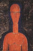 Amedeo Modigliani Red Bust (mk39) oil painting reproduction