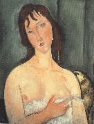 Amedeo Modigliani Portrait of a Young Woman (mk39) oil painting reproduction