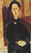 Amedeo Modigliani Portrait of Anna Zborowska (mk39) oil painting reproduction