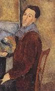 Amedeo Modigliani Self-Portrait (mk39) oil painting reproduction