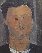 Amedeo Modigliani Pierre Reverdy (mk39) oil painting reproduction