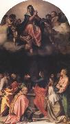 Andrea del Sarto Assumption of the Virgin (nn03) oil painting reproduction
