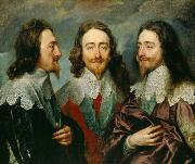 Charles I in Three Positions (mk25)