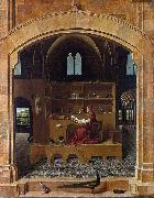 Antonello da Messina Saint Jerome in his Study (nn03) oil painting reproduction