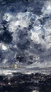 August Strindberg The City (nn02 oil painting reproduction