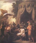 Benjamin West The Death of Epaminondas (mk25) oil painting reproduction