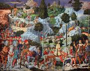 Benozzo Gozzoli The Journey of the Magi (nn03) oil painting reproduction
