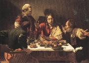 Caravaggio Supper at Emmans (mk33)