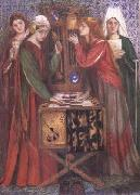 Dante Gabriel Rossetti The Blue Closet (mk28) oil painting picture wholesale