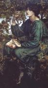 Dante Gabriel Rossetti The Day Dream (mk28) oil painting on canvas