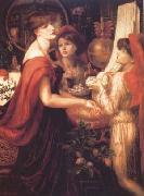 Dante Gabriel Rossetti La Bella Mano (mk28) oil painting picture wholesale