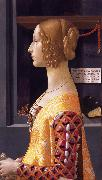 Domenico Ghirlandaio Portrait of Giovanna Tornabuoni (nn03) oil painting artist