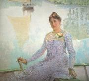 Emile Claus Portrait of Anna de Weert (nn02) oil painting picture wholesale