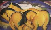 Franz Marc The Little Yellow Horses (mk34)