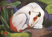 Franz Marc The Steer (mk34) oil painting
