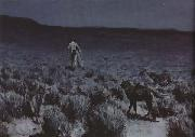 Frederic Remington Calling the Moose (mk43) oil painting picture wholesale