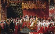 George Hayter The Coronation of Queen Victoria (mk25) oil painting
