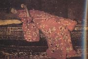 George Hendrik Breitner Girl in Red in Red Kimono (nn02) oil painting