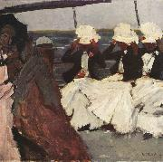 George Hendrik Breitner Three Women on Board (nn02) oil painting