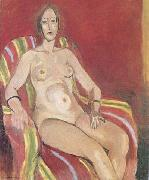 Nude in an Armchair (mk35)