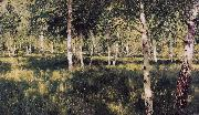Isaac Ilich Levitan Birch Grove (nn02) oil painting reproduction