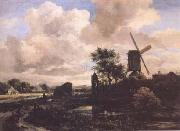 Windmill by a Stream (mk25)