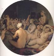 Jean-Auguste Dominique Ingres Le Bain turc (mk32) China oil painting reproduction