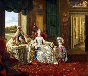 Queen Charlotte at her Dressing Table (mk25)