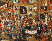 Johann Zoffany The Tribuna of the Uffizi (mk25) oil painting