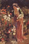 John Frederick Lewis In the Bey's Garden Asia Minor (mk32)
