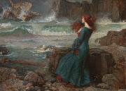 John William Waterhouse Miranda-The Tempest (mk41) oil painting picture wholesale