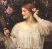 John William Waterhouse Wildflowers (mk41) oil painting artist
