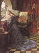 John William Waterhouse Fair Rosamund (mk41) oil painting reproduction