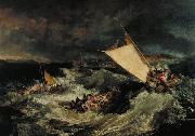 Joseph Mallord William Turner The Shipwreck (mk31) oil painting picture wholesale