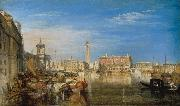 Joseph Mallord William Turner Bridge of Sighs,Ducal Palace and Custom-house (mk31) oil painting picture wholesale