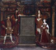 Leemput, Remigius van Henry VII and Elizabeth of York (mk25) oil painting