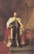 Luke Fildes George V 1912 (mk25) oil painting