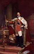 Luke Fildes Edward VII (mk25) oil painting