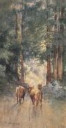 Cows in a Redwood Glade (mk42)