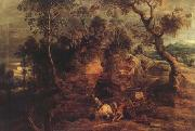 Peter Paul Rubens Landscape With Carters (mk27) oil painting picture wholesale