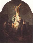 REMBRANDT Harmenszoon van Rijn The Descent from the Cross (mk33) oil painting picture wholesale