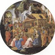 filippo lippi,Adoration of the Magi (mk36)