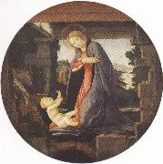 Madonna in Adoration of the Christ Child (mk36)
