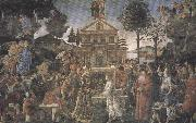Sandro Botticelli Trials of Christ (mk36) oil painting picture wholesale