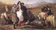 Sir Edwin Landseer Royal Sports on Hill and Loch (mk25 oil painting picture wholesale