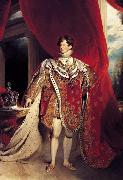 Sir Thomas Lawrence George IV (mk25) oil painting artist