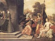 Elizabeth I and the three Goddesses (mk25)