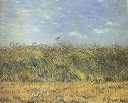 Wheat Field with a Lark (nn04)