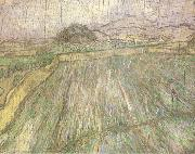 Wheat Field in Rain (nn04)