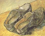 A pair of wooden Clogs (nn04)